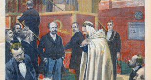 Qui était ce député français qui siégeait en burnous à l'Assemblée Nationale en France en 1896?