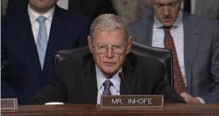 Le Sénateur, James Inhofe, président de la Commission défense du Sénat américain s'est dit «attristé» et «déçu» par la décision de Donald Trump sur le Sahara occidental
